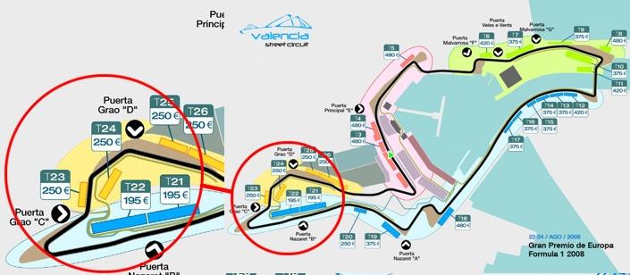 Gran Premio de Valencia de Formula 1
