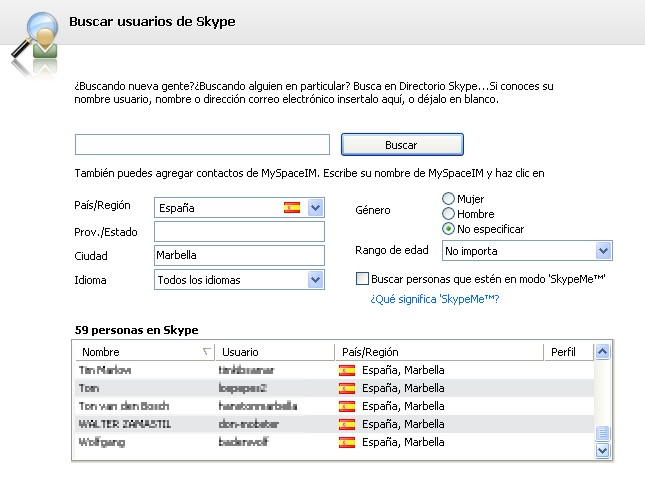 usuarios skype