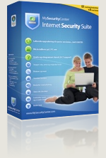 Caja antivirus Internet Security Suite